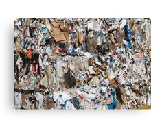 paper recycling Canvas Print