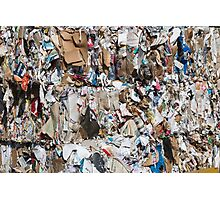 paper recycling Photographic Print