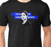 Clara (Bonnie) Oswald Zygon Invasion: Doctor Who Truth or Consequence Pop art Unisex T-Shirt