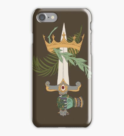 Ace of Swords iPhone Case/Skin