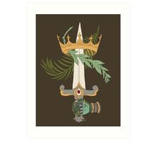 Ace of Swords Art Print