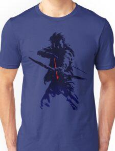 blue arrow Unisex T-Shirt