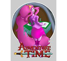 Princess Bubblegum T-Shirt Photographic Print