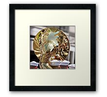 Musical Reflections  Framed Print