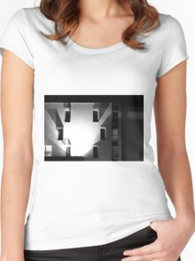 The hotel Women's Fitted Scoop T-Shirt