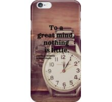 Sherlock Great mind iPhone Case/Skin