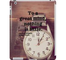 Sherlock Great mind iPad Case/Skin