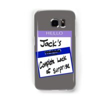 """Fight Club: """"I AM JACK'S COMPLETE LACK OF SURPRISE"""" Samsung Galaxy Case/Skin"""