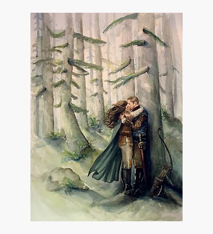 Snow and Charming Photographic Print