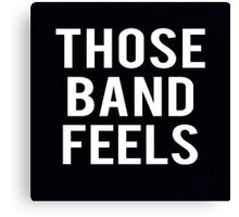 Bands. Canvas Print