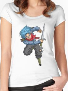 Future Trunks (Dragon Ball Super) Women's Fitted Scoop T-Shirt