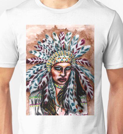 Lumbee Woman - Indian Native American Unisex T-Shirt