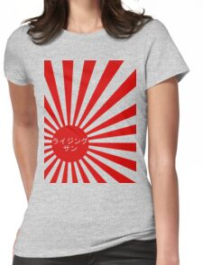 rising sun Womens Fitted T-Shirt