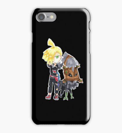 Pokemon Sun/Moon Team Skull Gladion and Type:Null iPhone Case/Skin