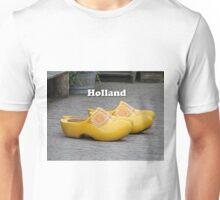 Holland: big clogs Unisex T-Shirt
