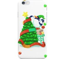 Penguin's Christmas Tree iPhone Case/Skin