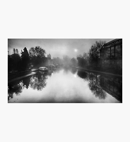 Misty Medway At Maidstone  Photographic Print