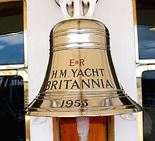Ship's Bell, Royal Yacht Britannia by Robert Steadman