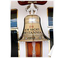 Ship's Bell, Royal Yacht Britannia Poster