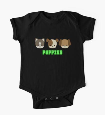 Puppies One Piece - Short Sleeve