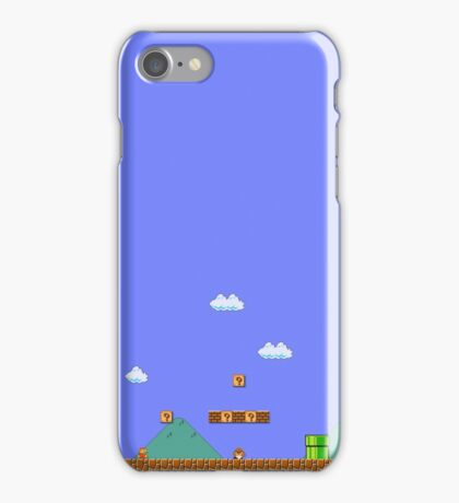 Mario 1-1 iPhone Case/Skin
