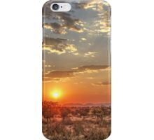 African Sunset iPhone Case/Skin