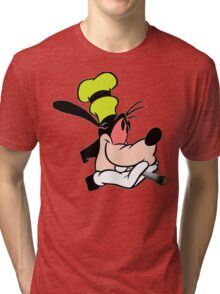 Goofy getting stoned Tri-blend T-Shirt