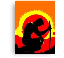 wolverinesunset Canvas Print