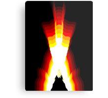 wolverine fire Metal Print
