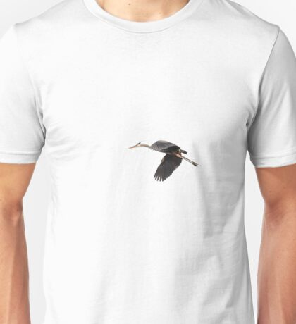 Isolated Great Blue Heron 2015-1 Unisex T-Shirt