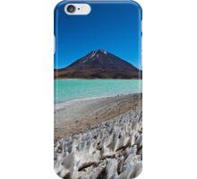 Laguna Verde with Vulcano Licancabur  iPhone Case/Skin