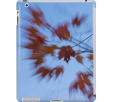 Abstract Impressions of Fall - Autumn Wind Melody iPad Case/Skin