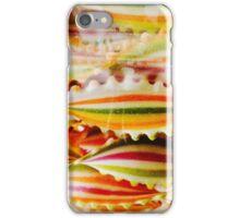Stripey pasta iPhone Case/Skin