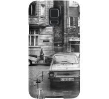 Quiet Streetscape In Sofia From Last Century Samsung Galaxy Case/Skin