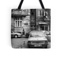 Quiet Streetscape In Sofia From Last Century Tote Bag