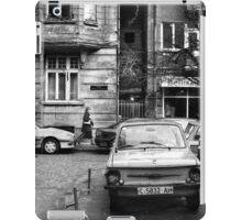 Quiet Streetscape In Sofia From Last Century iPad Case/Skin