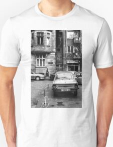 Quiet Streetscape In Sofia From Last Century T-Shirt