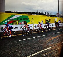 Tour de France 3 by Robert Steadman