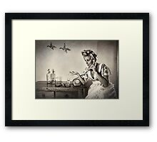 You don't say....  Mono version Framed Print