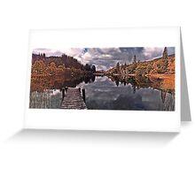 Fall over Loch Ard, Scotland Greeting Card