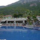 Blue Lagoon Hotel..OluDeniz Turkey by lynn carter
