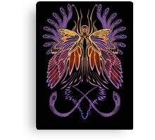 Mab the Queen of Fey (sunset) Canvas Print