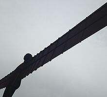 Angel of the North 1 by Robert Steadman