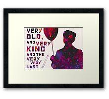 The Very Best Framed Print