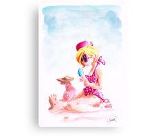 Sweet Summer Holiday Canvas Print