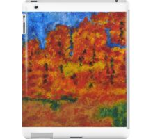 032 Abstract Landscape iPad Case/Skin