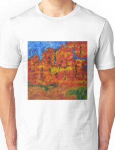 032 Abstract Landscape Unisex T-Shirt
