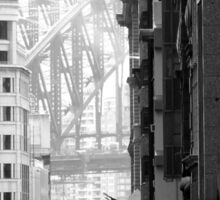 Harbour Bridge View 1 Sticker