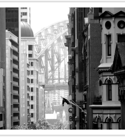 Harbour Bridge View 1 Sticker