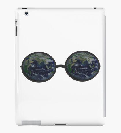 Earth Glasses iPad Case/Skin